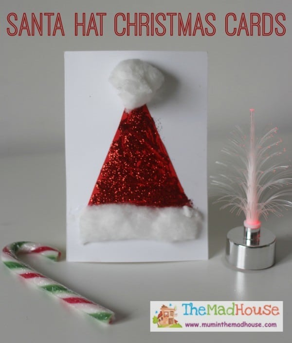 12 Easy Homemade Christmas Card Ideas For Kids Mums Make Lists