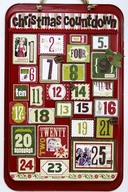Baking Tray Avent Calendar