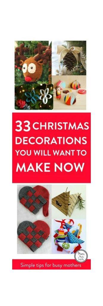 diy homemade christmas decorations for the home this festive season easy and cheap ideas for