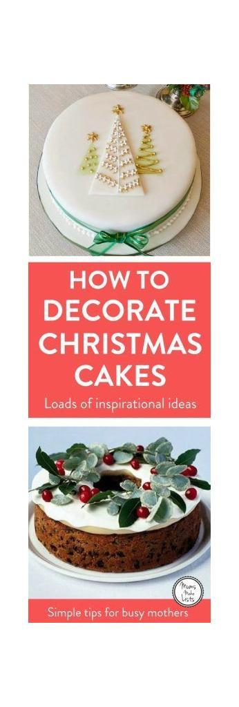 How Long Is Cake Mate Decorating Icing Good For : Christmas Cake Decorating - Mums Make Lists
