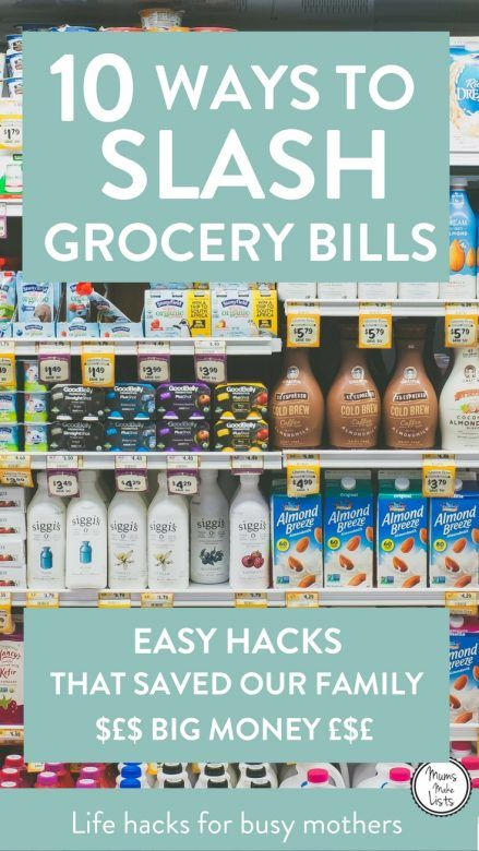 Want to know how to dramatically cut your grocery bill? These 10 simple strategies can save you money each month on the groceries you buy for your family How to Save on Food | Food Saving Tips | Spend Less On Groceries| Food Saving Hacks | Cut Down Food Expenses | Ways to Save on Food | Save on Groceries | Save Money on Food Tips | Cut Grocery Bills #Frugal #FrugalLiving #Budget #Budgeting #BudgetingTips #Groceries