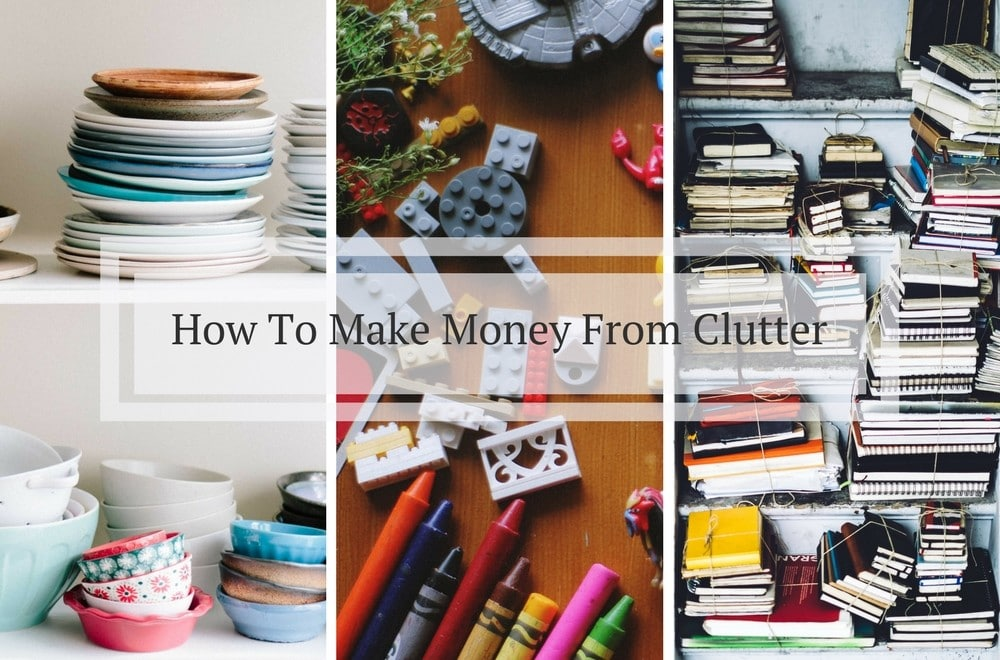 8 point plan for making money from decluttering - MumsMakeLists
