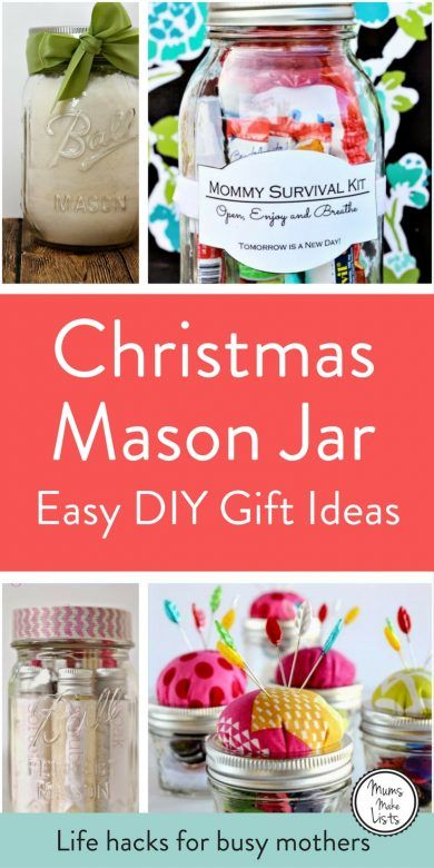 10 mason jar christmas gift ideas mums make lists i love mason jars for storage and organisation but theyre also brilliant for negle Images