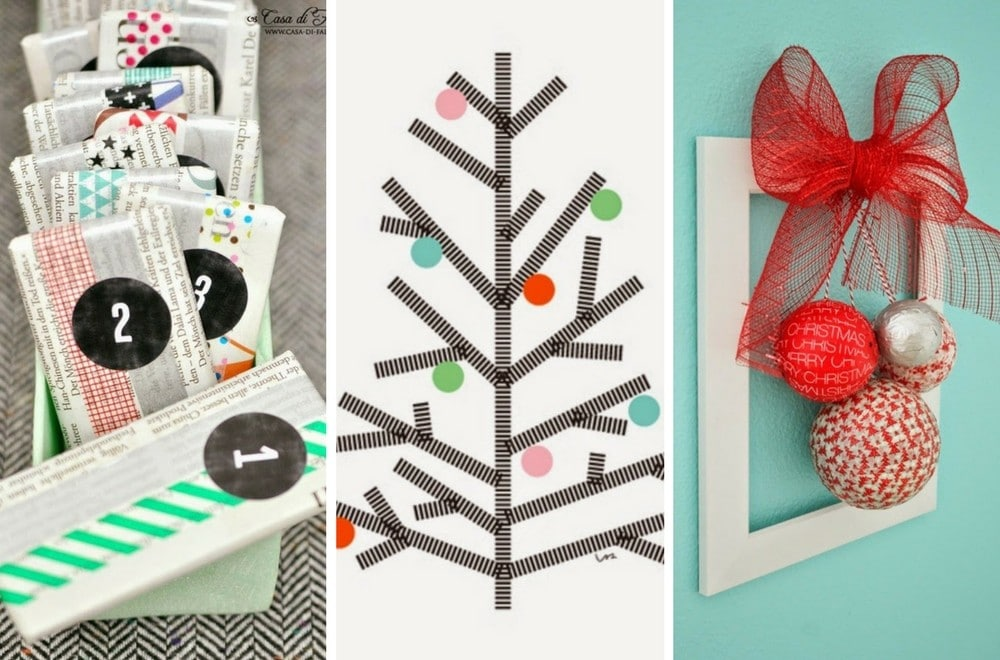 Christmas tree gift card ideas