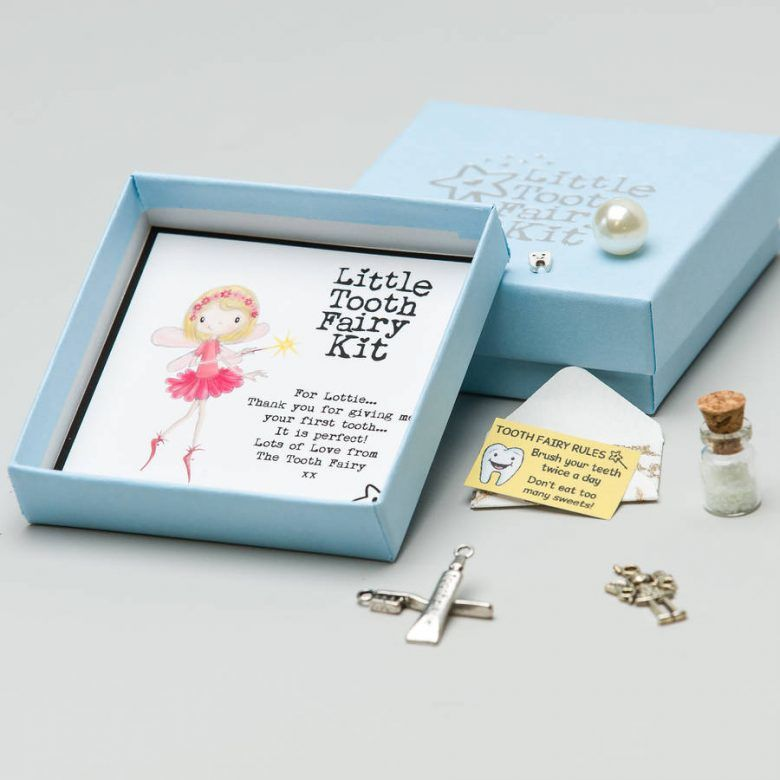 Personalised'Little Tooth Fairy Kit