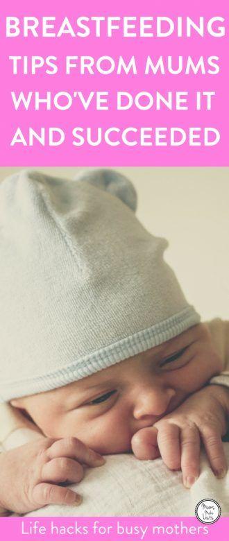 Breastfeeding Tips Mums Make Lists