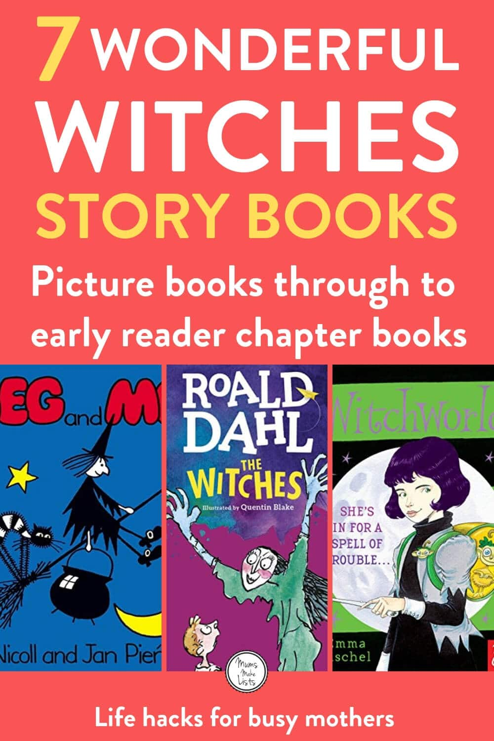7 Witch stories for kids | Mums Make Lists