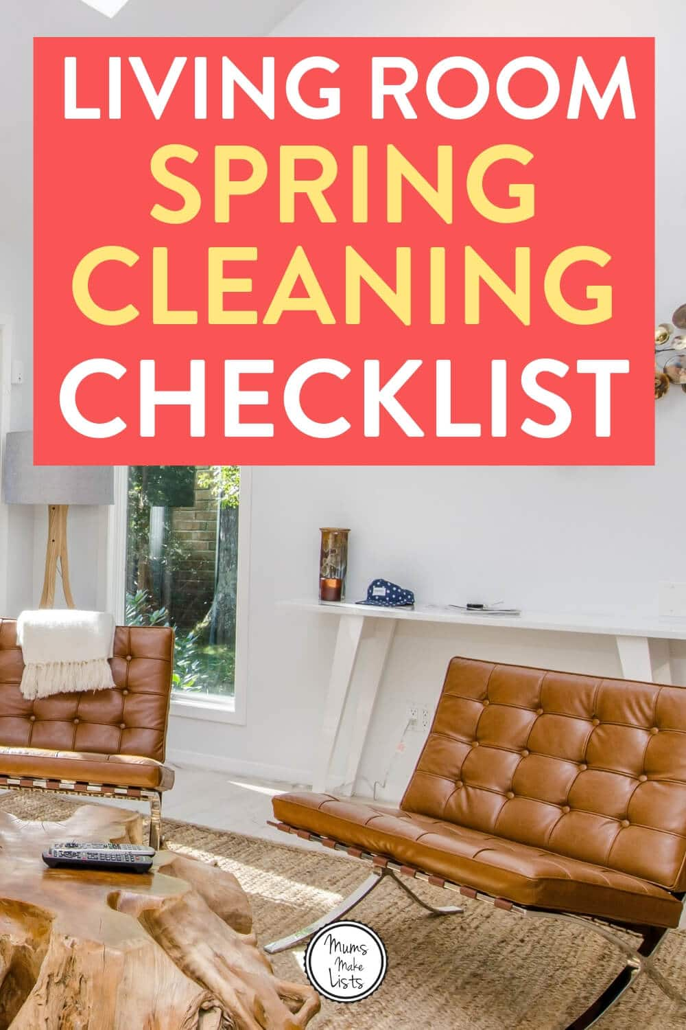 Living room spring cleaning checklist, living room spring clean, spring cleaning checklist, spring cleaning, spring clean
