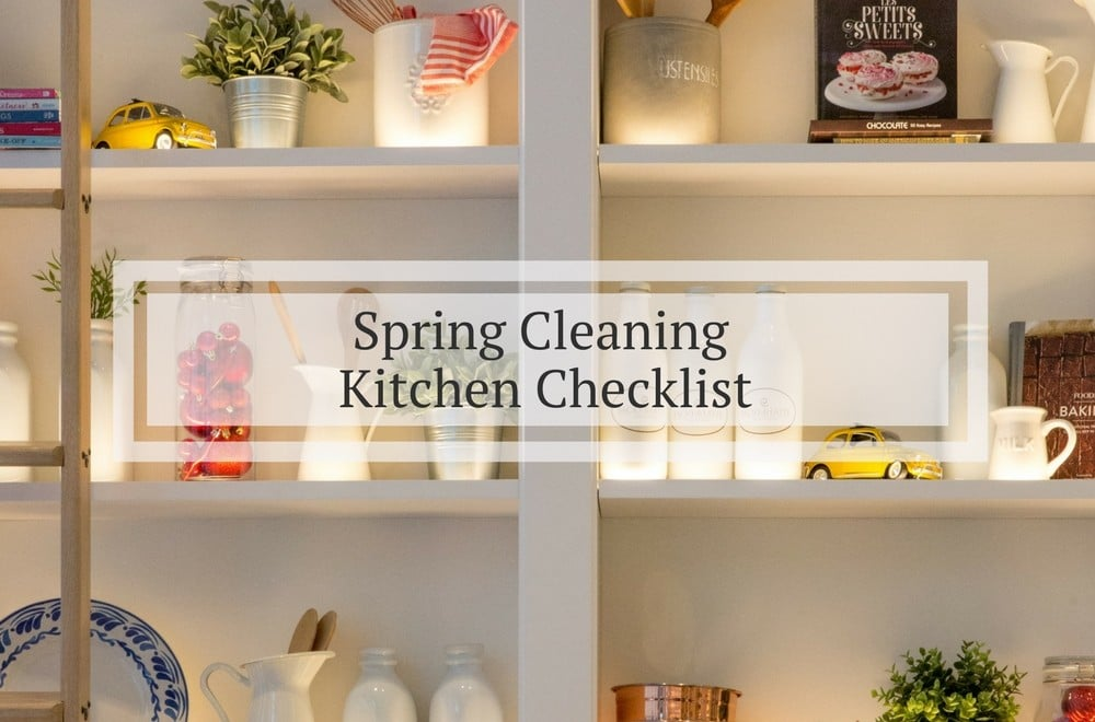 Spring clean the kitchen | Mums Make Lists