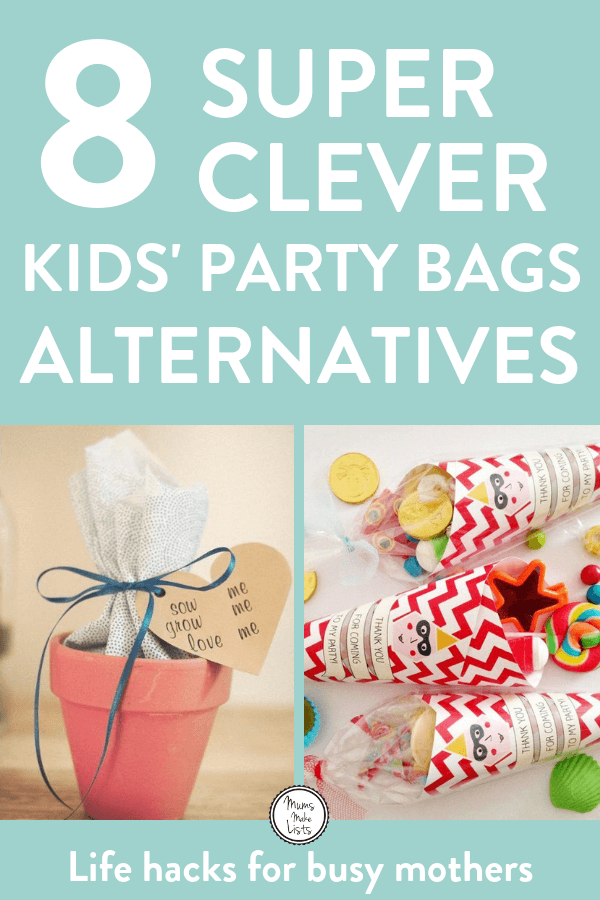 Alternative Party Bag Ideas For Kids