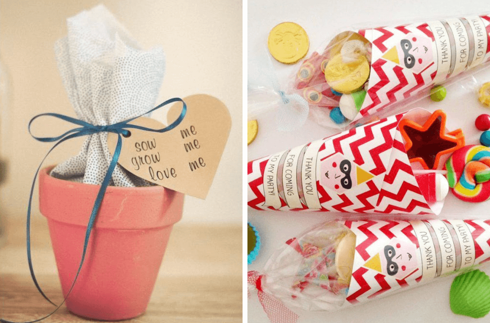 Alternative Party Bag Favour Ideas For Kids