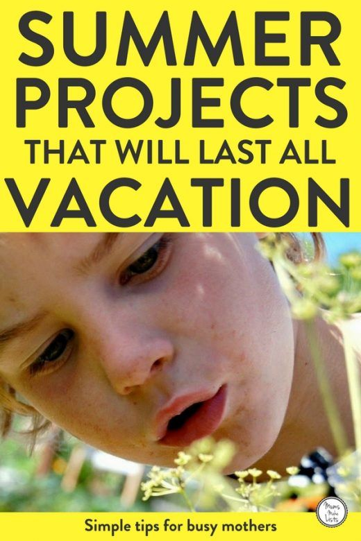 We've put together a list of summer vacation kids activities that kids can do by themselves to occupy them all summer long. This list of fun things to do both outdoor and indoors during the summer months uses creative ways to get kids to entertain themselves without constant input from parents and adults. #KidsActivities #playandlearn #parenting #Summer #summervacation
