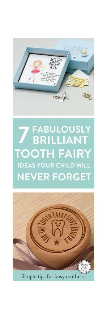 Here's some Tooth Fairy magic! A little curation of lovely ideas to celebrate the first visit from the Tooth Fairy, including letters - both DIY and personalised ideas you can buy - free printables and lovely tooth fairy keepsake boxes. Take a little peak and make the first tooth fairy visit super special for your boys and girls #ToothFairy