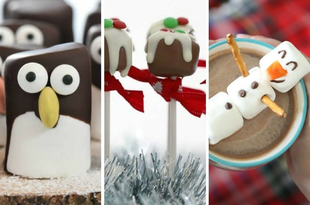 easy christmas marshmallow crafts for kids to make either on their own or with help