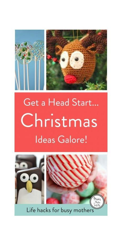 Christmas is a brilliant time of year, it's also a time that needs planning, to come up with the ideas and inspiration to create a truly magical Christmas. Christmas planning and preparation can be a total time-soak, so we've put together roundups of easy ways to make Christmas special and get everyone in yoour household in the Christmas spirit. There's plenty of Christmas craft ideas... especially ideas simple enough for kids to craft. There's DIY homemade decoration ideas that you don't need to be a creative genius to make, there's food inspiration and gift ideas. #Christmas