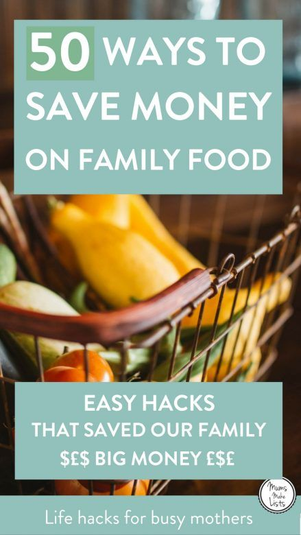 Want to know how to save lots of money on your food bill? These 50 simple strategies can save you money each month on the family food shop How to Save on Food | Food Saving Tips | Spend Less On Groceries| Food Saving Hacks | Cut Down Food Expenses | Ways to Save on Food | Save on Groceries | Save Money on Food Tips | Cut Grocery Bills #Frugal #FrugalLiving #Budget #Budgeting #BudgetingTips #Groceries