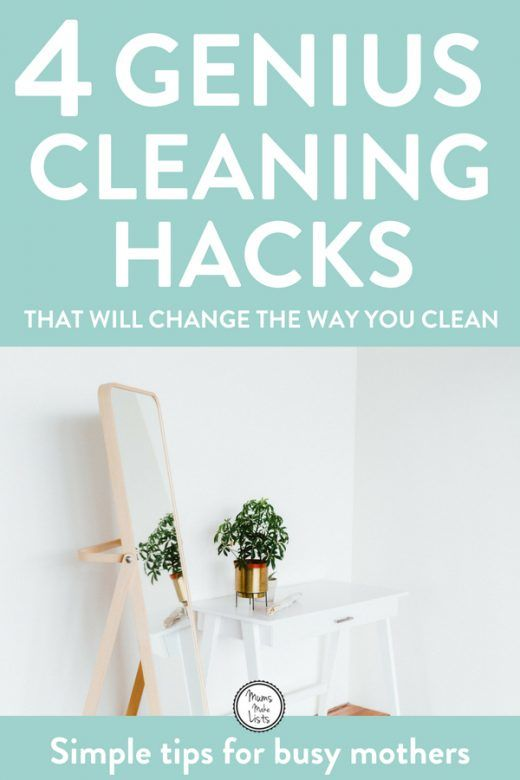 Here Are 4 Brilliant Cleaning Hacks Tips And Tricks You Can Use To Reduce The