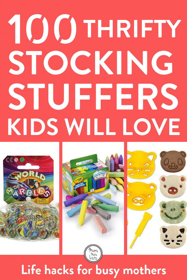 Cheap Stocking Stuffers Kids Will Actually Use And Love