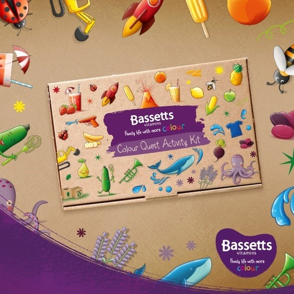 Bassett Vitamins Colour Quest Activity Kit