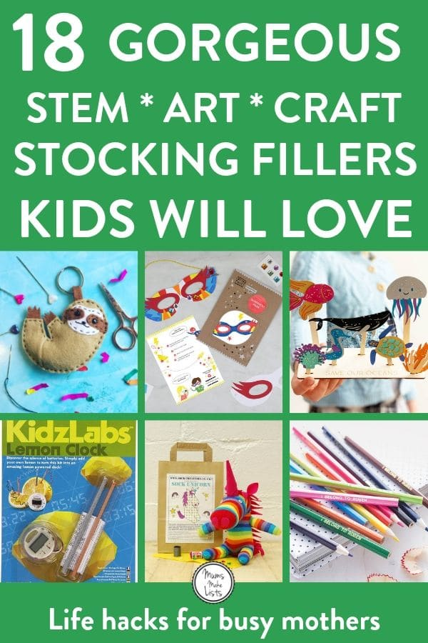 Stocking filler ideas, stocking filler ideas for kids, children's stocking filler ideas