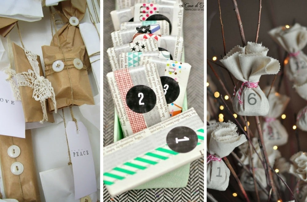 Homemade Calendar Ideas : Easy homemade advent calendars mums make lists
