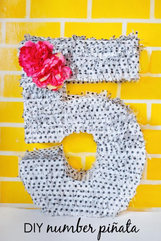 DIY-Number-Pinata