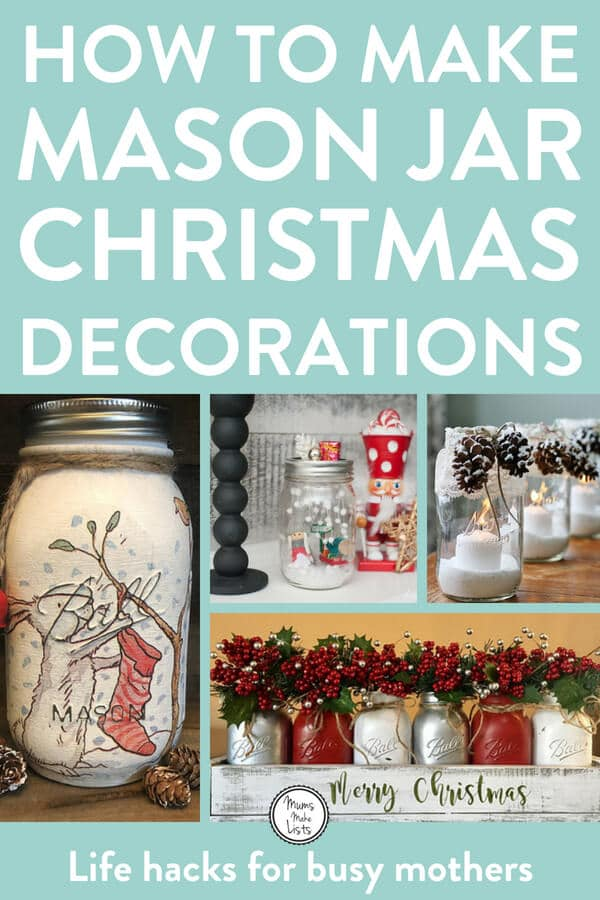Here's our roundup of links for 15 great how to make Mason Jar Christmas gift tutorials and step-by-steps. Each one is simple, easy to make and looks gorgeous. We've also added in some handmade Mason Jar Christmas gifts we've found on Etsy in case you don't have time to make your own #MasonJarDecor #MasonJar #MasonJarCrafts #ChristmasDecor #ChristmasDecorations #ChristmasDecorDIY #Christmas2018 #Christmas #Craft #Etsy #EtsyChristmas