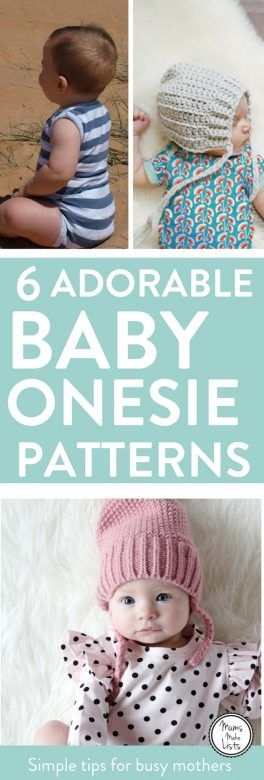 Adorable free baby onesie patterns mums make lists free baby sewing patterns for baby onesies weve found six totally gorgeous jeuxipadfo Choice Image