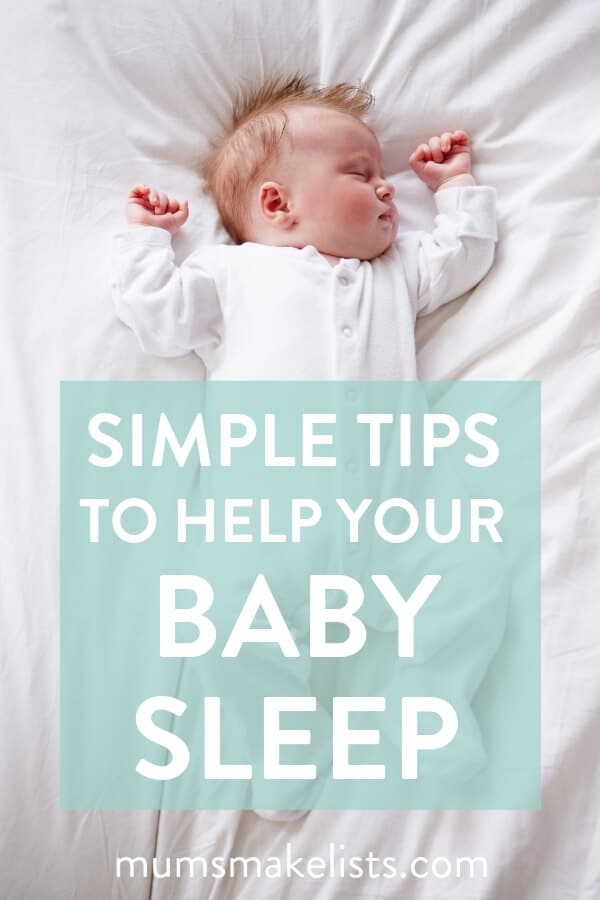 baby sleep, tips to help baby sleep, baby tips, new mum