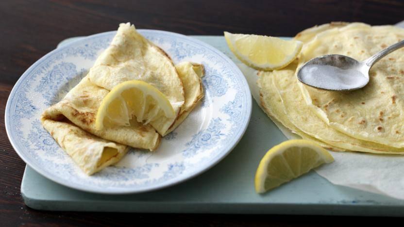 classic lemon and sugar pancake toppings recipe