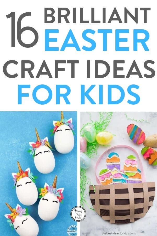 Easter Egg Crafts For Kids Mums Make Lists