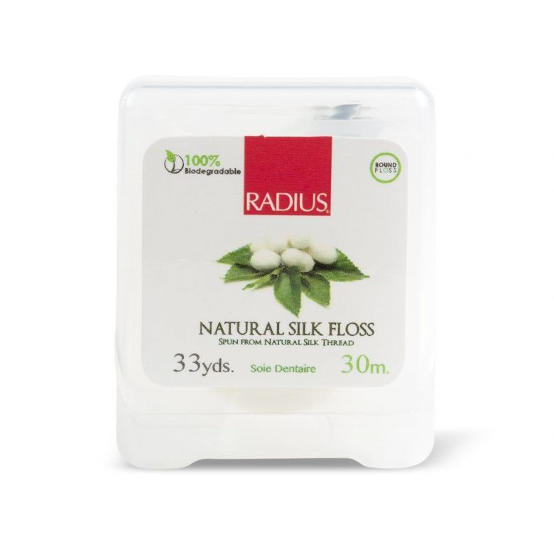 RADIUS Natural Silk Floss, Zero waste, biodegradable natural silk floss, vegan, #zerowaste, #plasticfree