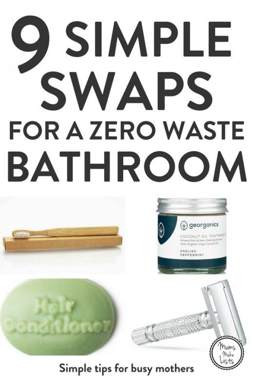 Here are 9 single-use plastic swaps you can make in your bathroom today to help you towards leading a Zero Waste lifestyle and single-use plastic free. We've got ideas and tips on plastic-free products including toothbrushes, dental floss, toothpaste, shampoo and conditioner, cotton buds / QTips to get your eco-friendly on. #ZeroWaste #plasticfreetuesday #plasticfree #singleuseplastic #breakfreefromplastic #plasticfree #ecotips #ecofriendly