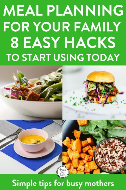 Easy meal planning tips and ideas for families, this is a great list of hacks and ideas for beginners to start meal planning. #MealPlanning #FamilyFood #HealthyFamily #HealthyFamilyFood #Food #Mealplan #MealPrep #MealPrepMonday #meals #Food