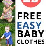 FREE BABY CLOTHES PATTERNS FOR SEWING HOMEMADE BABY CLOTHES FOR BABY BOYS BABY GIRLS GENDER NEUTRAL