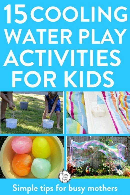 Water play activities for kids summer outdoor fun in the garden or park #waterplay #kidsactivities #kbn #play #playandlearn #kids #OutdoorKids #freerangekids #kidsactivities #kidsactivity #parentinghack #parenting #kidsfun