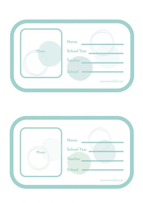School memory storage box for kids file labels, back to school, organisation. #BackToSchool