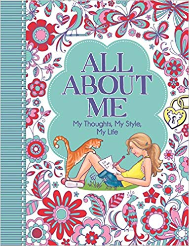 All About Me journal - better than average party bag favours