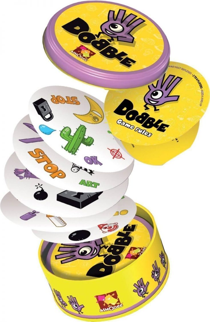 Dobble - a party favour bag alternative that kids will value and keep their minds active and sharp