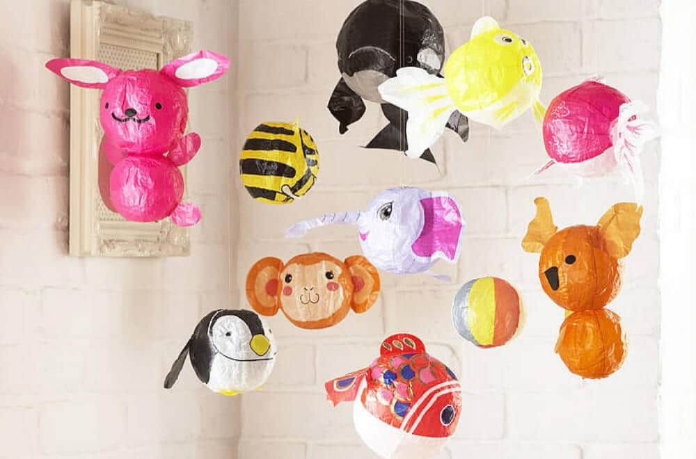 Japanese Paper Balloons - kids love these instead of party favour bags