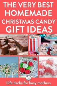 Homemade Christmas candy makes great gifts. Whether you make it yourself or your kids make it, there is nothing lovelier than the gift of homemade candy at Christmas! This is our roundup of the most popular Christmas candy recipes on Mums Make Lists, peppermint candy, Crockpot candy recipes, turkish delight, fudge and more... it's all here to help you plan for Christmas #ChristmasCandy #Christmas #Christmasgifts #Christmas2017 #Christmas #ChristmasChocolate #Christmas2018