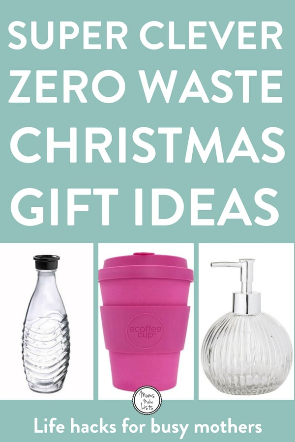 I've put together a list of zero waste Christmas gift ideas for helping cut down on waste and in particular, single-use plastic, when giving gifts this Christmas. The ideas include eco-friendly gifts, plastic-free gifts, giving experiences and online lessons and more. #ZeroWaste #Ecofriendly #GreenLiving #Christmas #Christmas2018 #ChristmasIdeas #SingleUsePlastic #PlasticFree #plasticfreetuesday #breakfreefromplastic #ecotips #Christmasgift #Christmasgiftideas #gift #giftideas