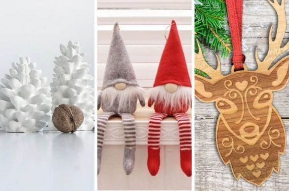 14 Scandinavian Christmas decorations for the home