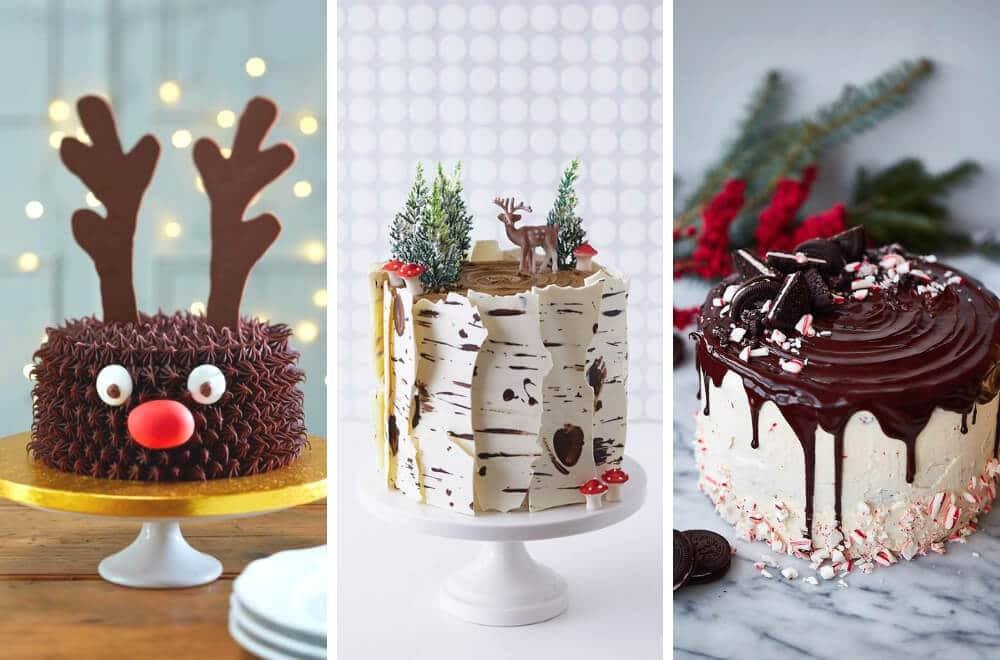 Christmas Cake Decorations.18 Awesome Christmas Cake Decorating Ideas Mums Make Lists