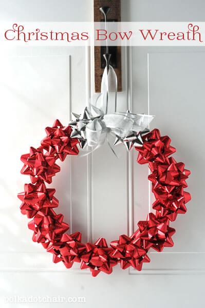 DIY-Christmas-Bow-Wreath