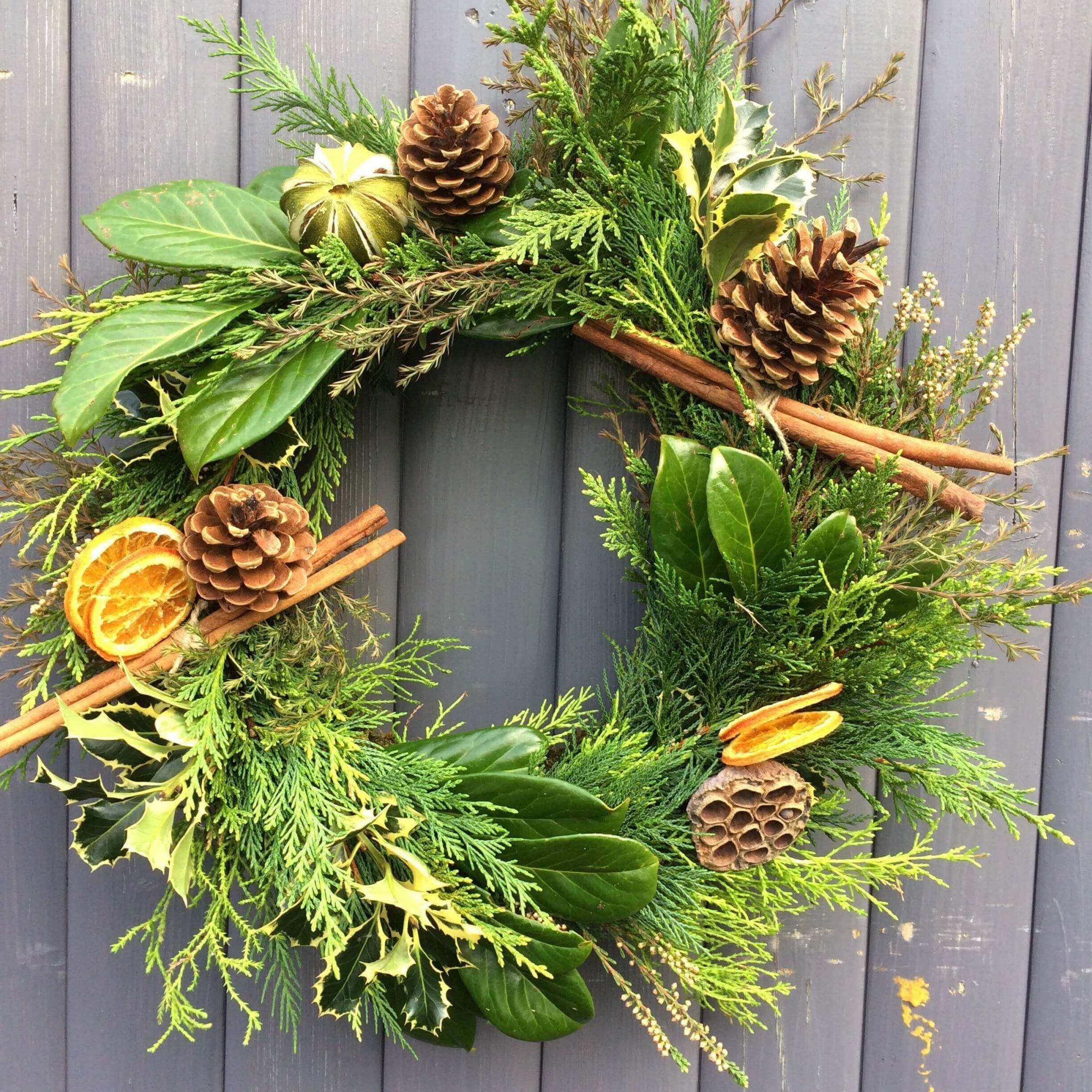 Etsy Christmas wreath kit