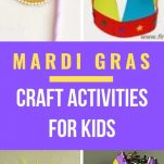 List of 11 Mardi Gras activities, games, crafts for kids, ideas to make Mardi Gras fun for all the family. DIY masks to make at home, Mardi Gras doubloons game, how to make Mardi Gras musical instruments, fun for all the family,
