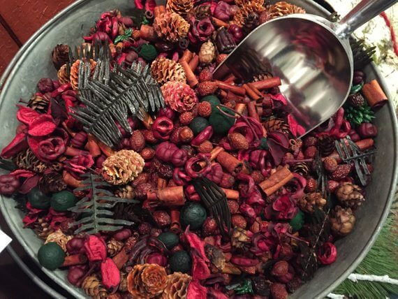 Reindeer Potpourri Etsy, home smell of Christmas
