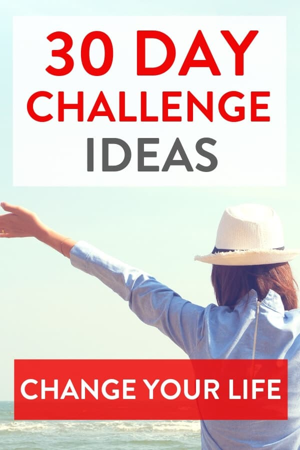 Check out this list of fun 30 day challenge ideas to help you start new good habits for 2019! These small and simple 30 day challenges will motivate you to improve your life. From fitness 30 day challenge ideas to ones for self care, health and wellbeing. Live your best life by trying a 30 day challenge! #30daychallenge #challenge #challengeaccepted #liveyourbestlife #motivation #newyearsresolution