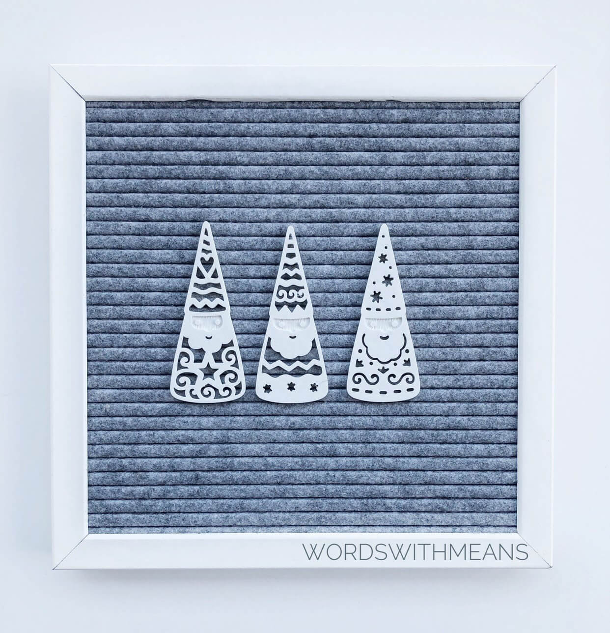 Gnome set letter board icons